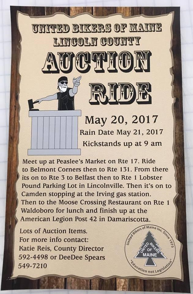Lincoln County Auction Ride 2017